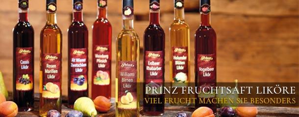 Traditionelle Fruchtsaft Liköre