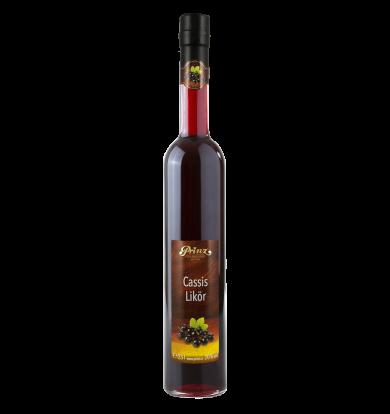 Cassis Likör 20 % vol.  –  0,5l Flasche